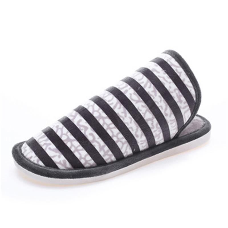 e39d25eeb9 Cheap 2018 Cotton Slippers Female Men s Thick-soled Couple Autumn And  Winter Home Indoor Indoor Anti-slip Slippers Winter YX111