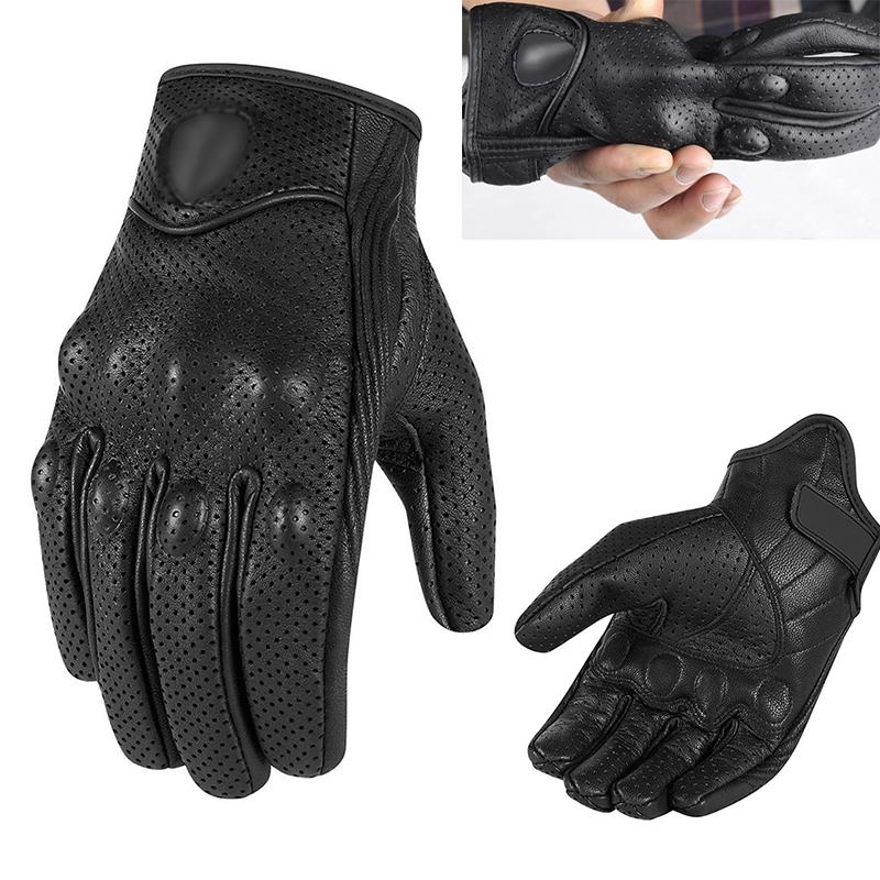 1 Pair Motorcycle Gloves Racing Touchscreen Waterproof Gloves Motorcycle ATV Cycling Riding Protective Gears motocross