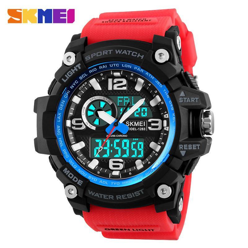 Sport Uhren Männer Luxus Marke Armee Camouflage Digital Military Watch Wasserdicht Männer Armbanduhren Relogio Masculino Herrenuhren