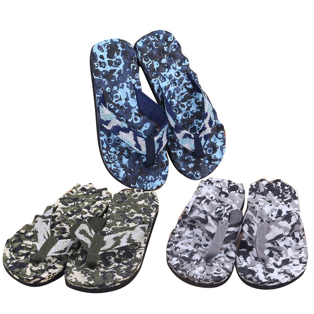 9264acc51f98 2018 New Arrival Men Summer Camouflage Flip Flops Shoes Sandals Slipper  Indoor Outdoor High Quality Summer Fashion Beach Sandals Dress Shoes Wedge  Shoes ...