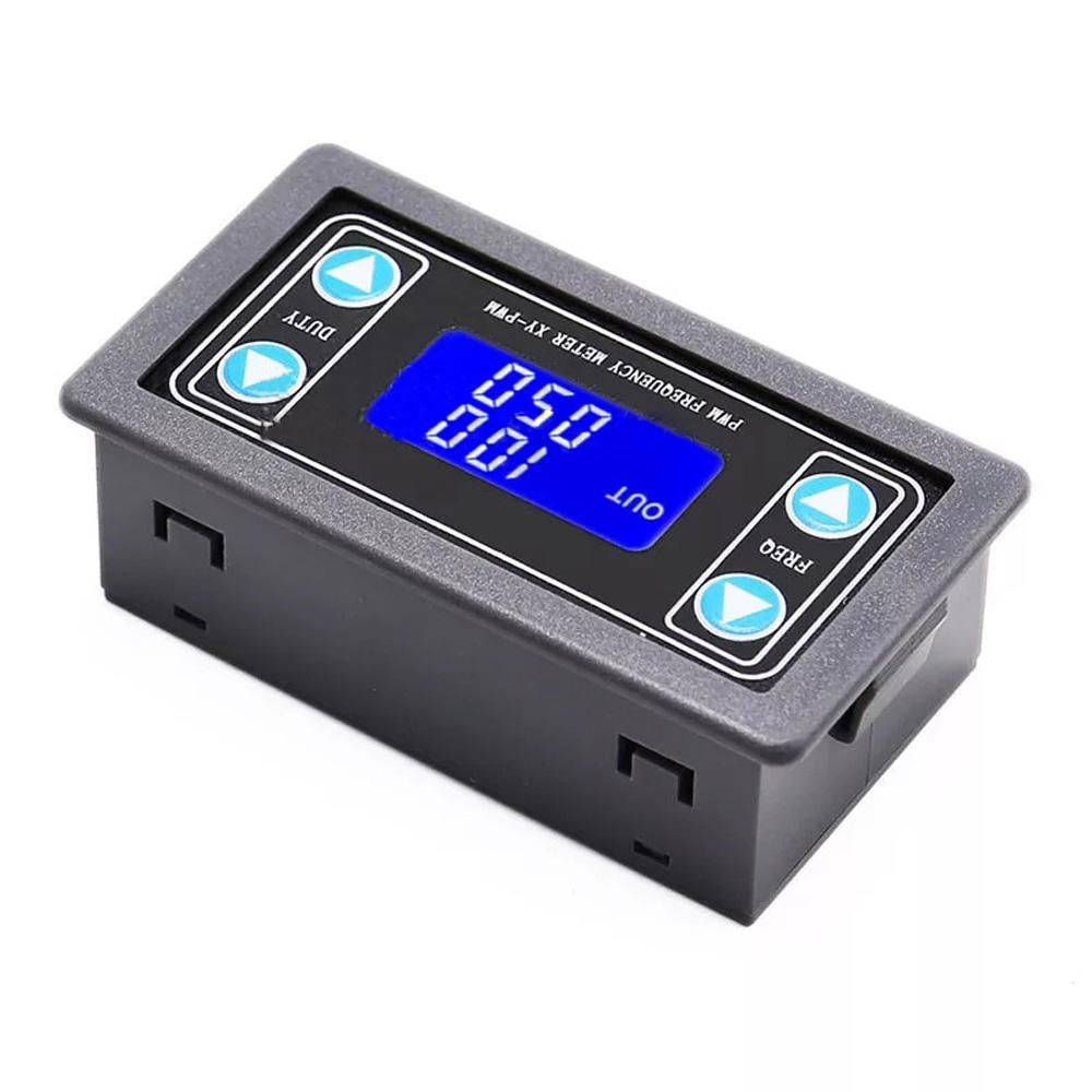High Precision Pwm Frequency Meter Xy -Pwm With Lcd Display Frequency Signal Generator Panel Meter Module Support Ttl Output