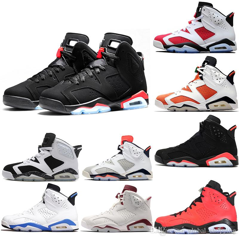 984fd275094397 Cheap 6 6s Mens Basketball Shoes Man UNC Black Cat Infrared Sports Blue  Maroon Olympic Alternate Hare Oreo Angry Bull Sports Sneakers Sneakers For  Women ...