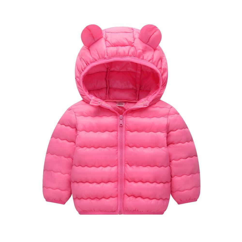 Kinder Baumwollkleidung unten dünne Mäntel für Jungen Wintermantel Kinder Mädchen Baumwolle Jacke dünne winddichte Erwärmung Oberbekleidung Kleidung