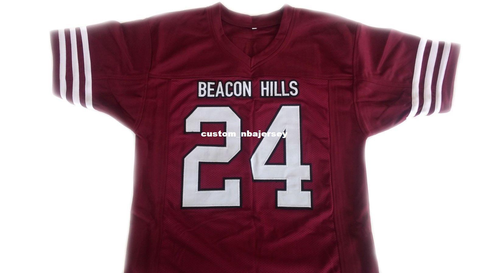 Wholesale Stilinski  24 Beacon Hills Teen Wolf Movie Lacrosse Jersey ... daf6d9fdb