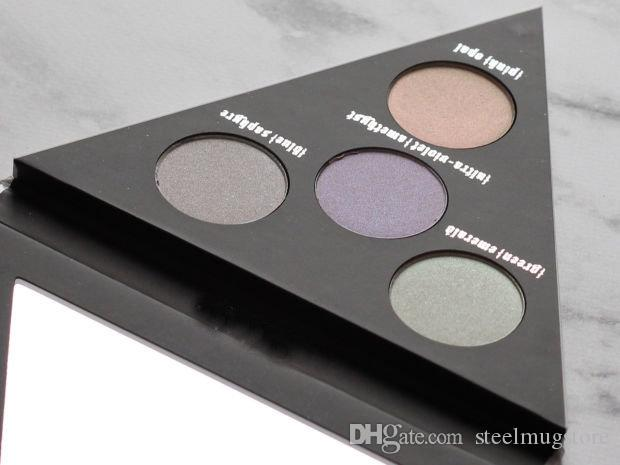Kat Von D 4 Color Alchemist Holographic Face & Eye Highlighter Polarized Light Triangle Palette High Quality