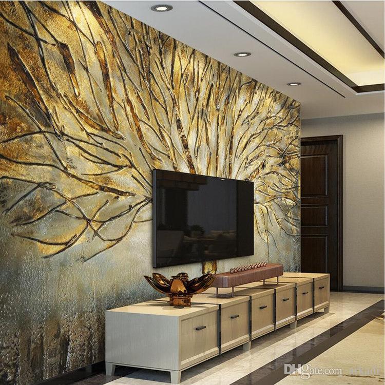 Custom 3D Wall Murals Wallpaper Modern Fashion Abstract