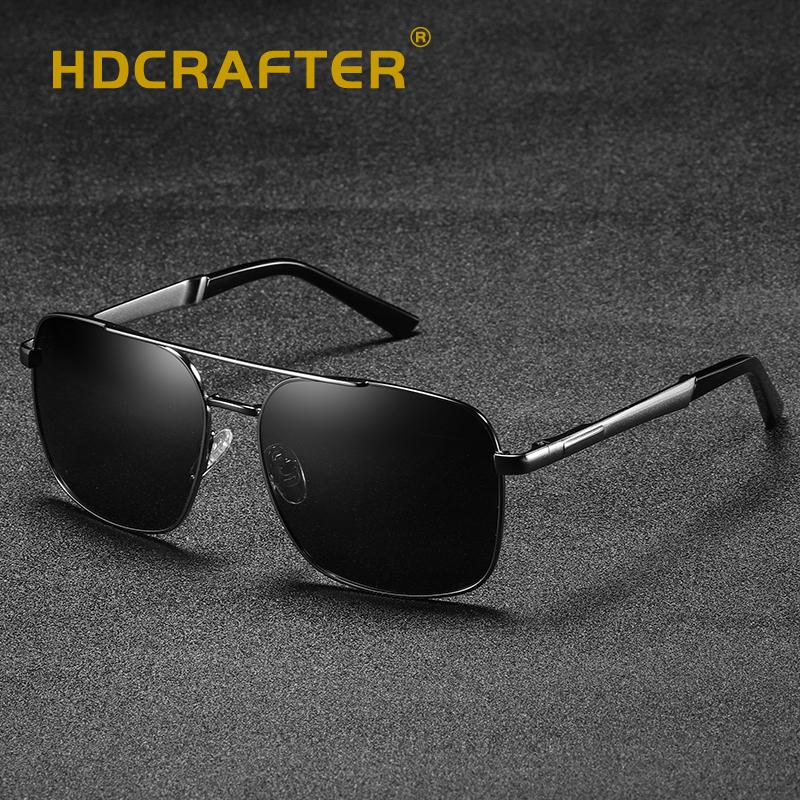 11d37bc7cdc Classic Pilot Sunglasses Polarized Men Brand Design Sunglasses UV400 ...
