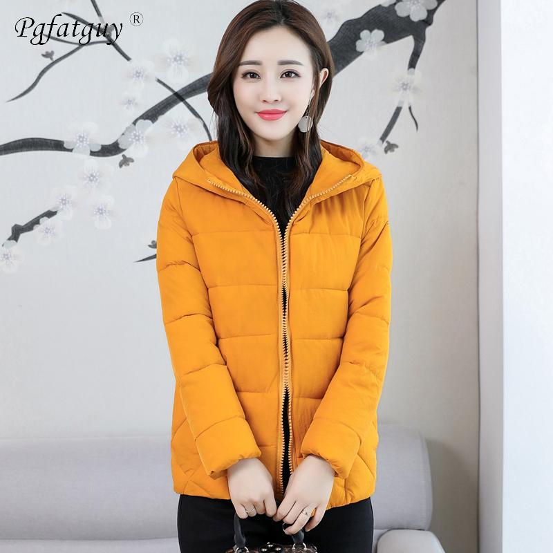 1db11db487d Plus Size L-XXXXXXL Thick Warm Winter Zipper Jackets Women Hooded ...
