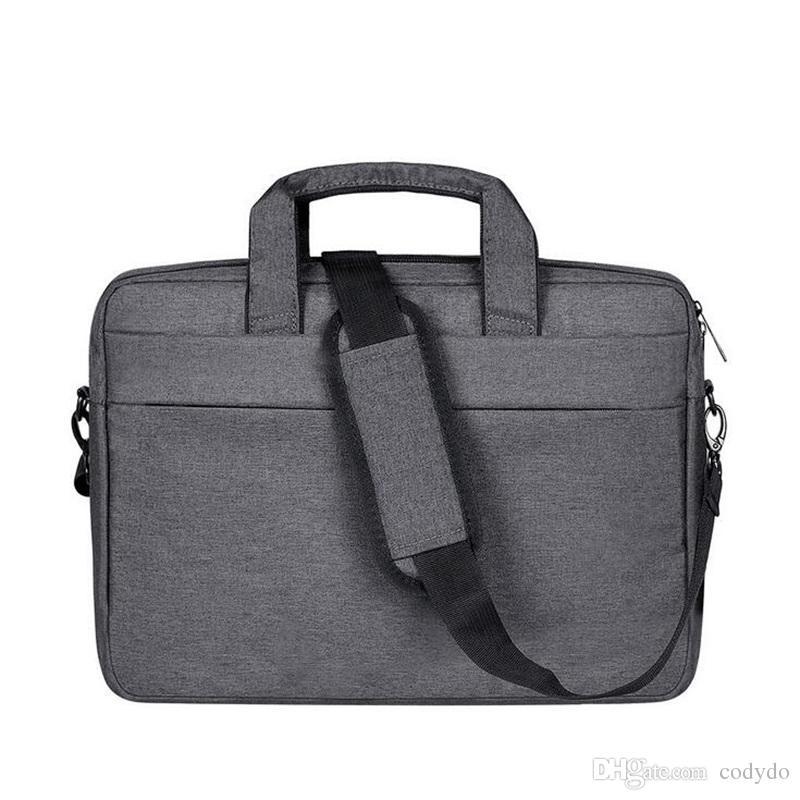 e5eedafea65c7 Satın Al Polyester Messenger Laptop Için Omuz Çantası 13.3 15.6 Inç MacBook  Hava, MacBook Pro, Dizüstü Bilgisayar, Evrak Çantası Çanta Kılıf Kapak  Taşıma, ...
