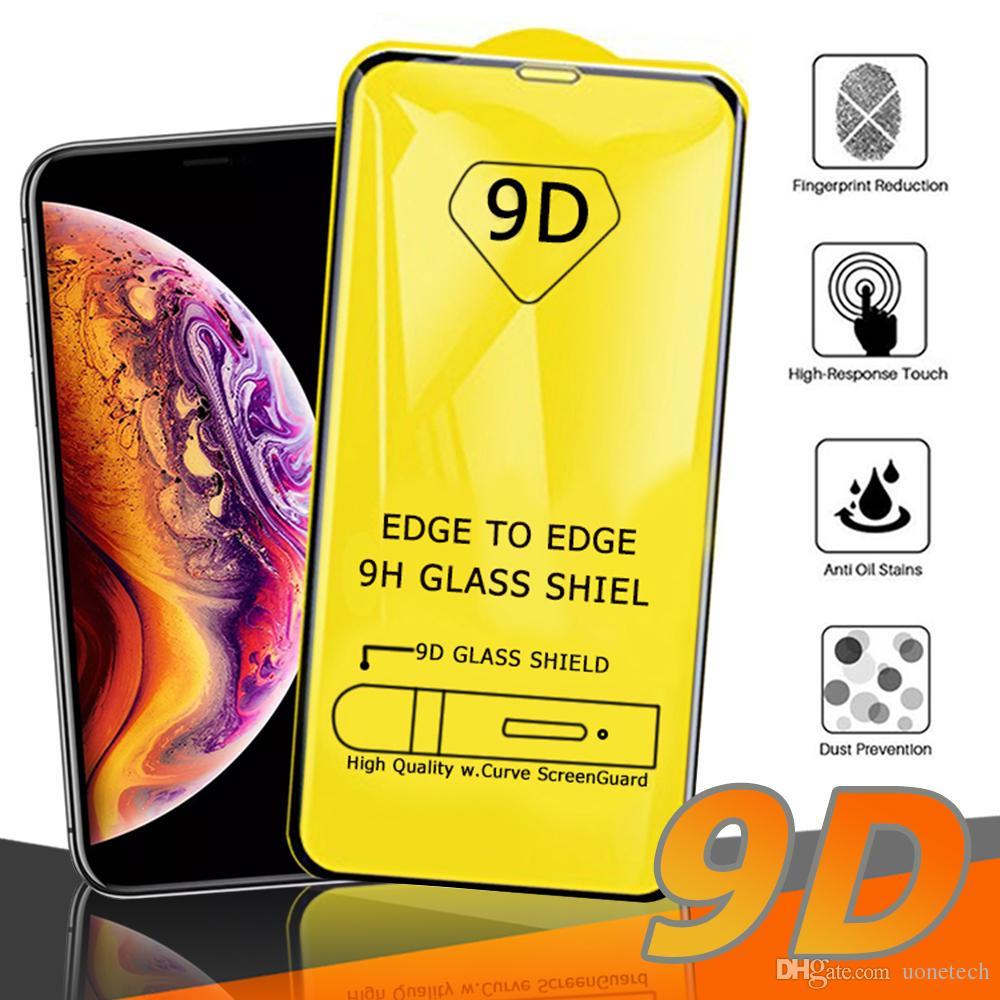 Handybildschirm-schutz FäHig 6d Volle Abdeckung Aus Gehärtetem Glas Für Iphone 7 8 6 6 S Plus Glas Iphone 7 8 X Bildschirm Glas Auf Iphone 7 8 Flim