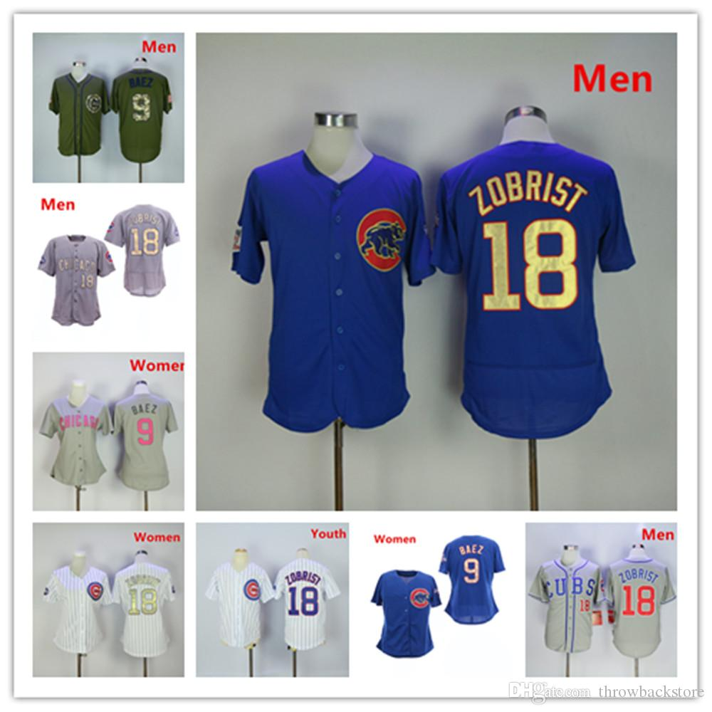 f9b1989c621 Chicago Ben Zobrist Jersey Cubs Javier Baez Mother s Day World ...