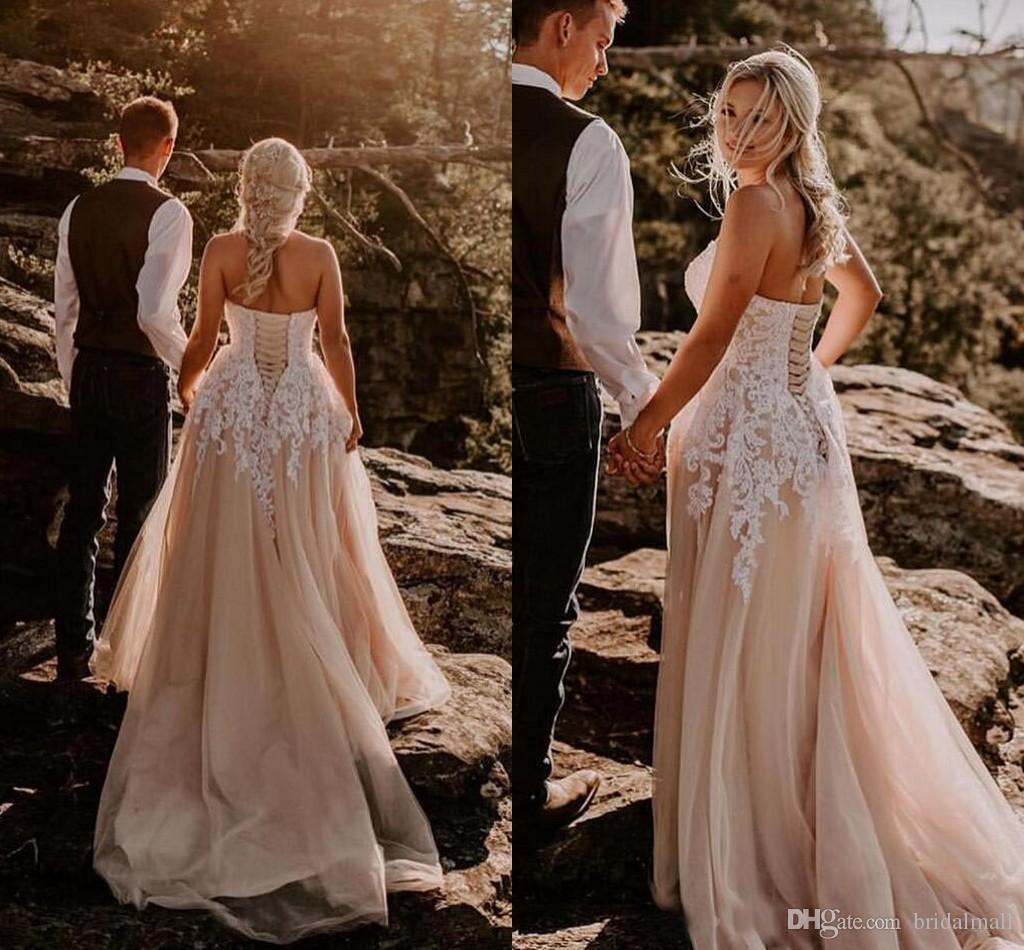 Vestidos de novia boho outlet
