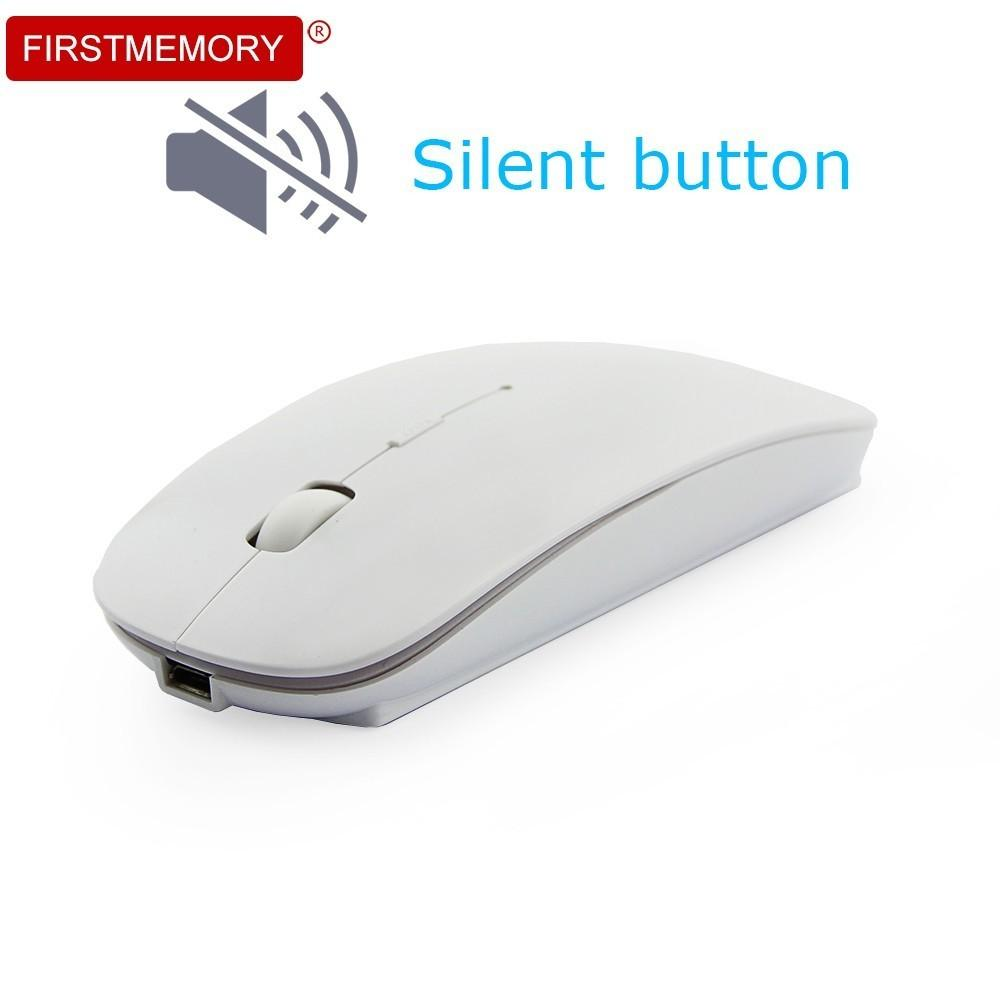 5a0a524e0b5 Rechargeable Wireless Mouse Silent Optical Mouse 1000/1200/1600DPI ...