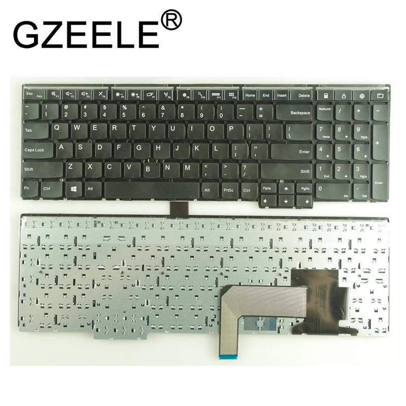 GZEELE New US keyboard for Lenovo E531 L540 W540 T540 T540P E540 W550 W541  no Backlight BLACK FOR IBM Thinkpad E531 series