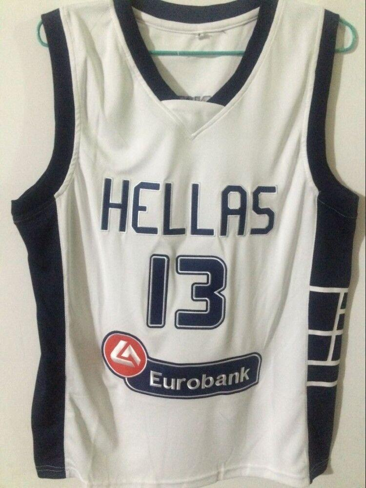 819421322ef ... official store 2019 cheap custom hellas giannis antetokounmpo 13 greece  basketball jersey stitched customize any name