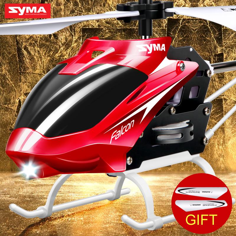 Syma Official W25 2 Channel Indoor RC Helicopter Mini Dron with Gyro RC Aircraft Remote Control Toys Helicopter Gifts