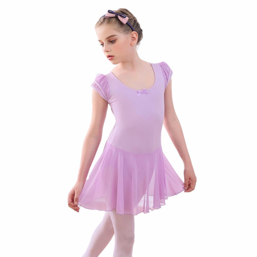 719a5ce3c4 Compre Profissional Ballet Tutu Criança Gymnastics Collant Dress Para  Childre Contornou Ballet Roupas De Dança Desgaste Com Saias De Chiffon T9  De ...