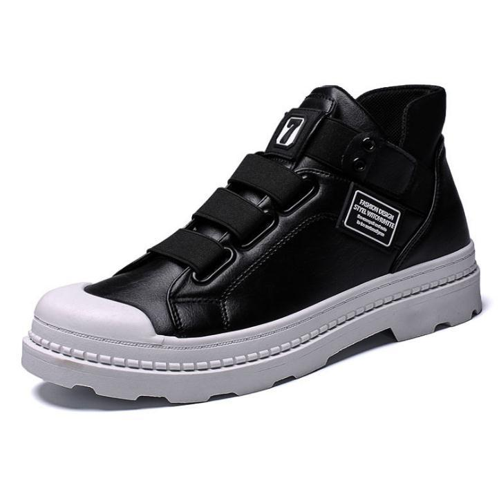 a5b68b13 Tenis Masculino Adulto Shoes Modis Botines Hombre Boots Men Indestructible  Leather Basket Homme Winter Snow Dr Martins Canada 2019 From Liucpik, ...