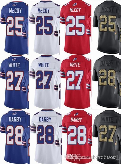 11b2bfda3 Cheap Buffalo Bills Custom Men youth women  25 LeSean McCoy 27 Davious White  28 Ronald Darby Vapor Untouchable Limited rush elite Jerseys