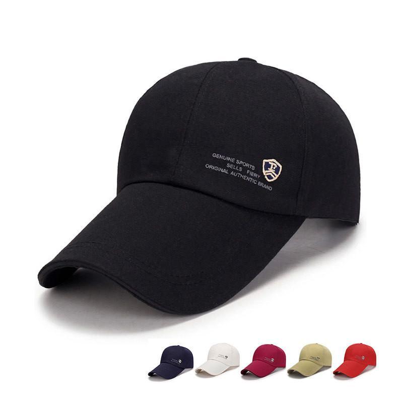 a3298ab49145c New Baseball Cap Men s Adjustable Cap Casual Leisure Hats Solid ...