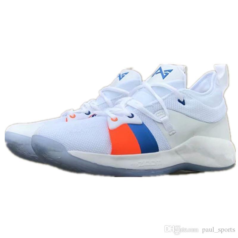 quality design b770b e63a3 Compre PG 2.5 PlayStation Lights UP Black Blue ICE Zapatos De Baloncesto Paul  George 2.5 Para Una Buena Calidad Para Hombre Zapatillas Deportivas Tamaño  40 ...