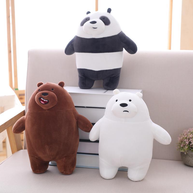 Acquista cm kawaii siamo orsi nudi peluche orso cartone