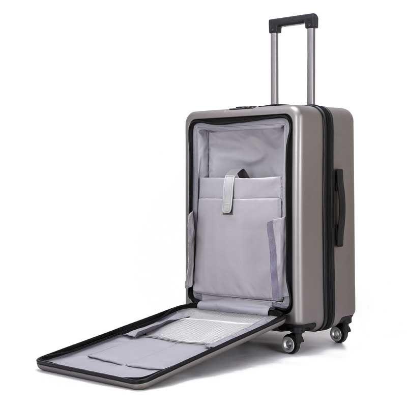 41e6ad463 Compre BeaSumore NUEVO Rolling Luggage Spinner Maleta Ruedas Hombres  Trolley Mujeres Bolsa De Viaje Rueda Continuar Contraseña Tronco Duro A  $160.9 Del ...