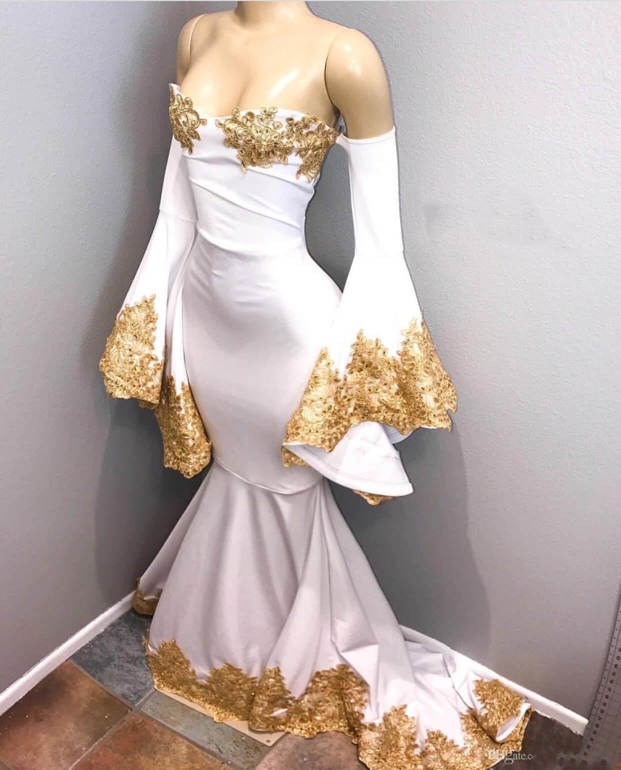 f629a9bd3c0c White Prom Dresses Mermaid - Data Dynamic AG