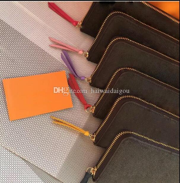 fa88f6350b83 Women men Long Single Zipper Card Credit Holders Purses Famous ...
