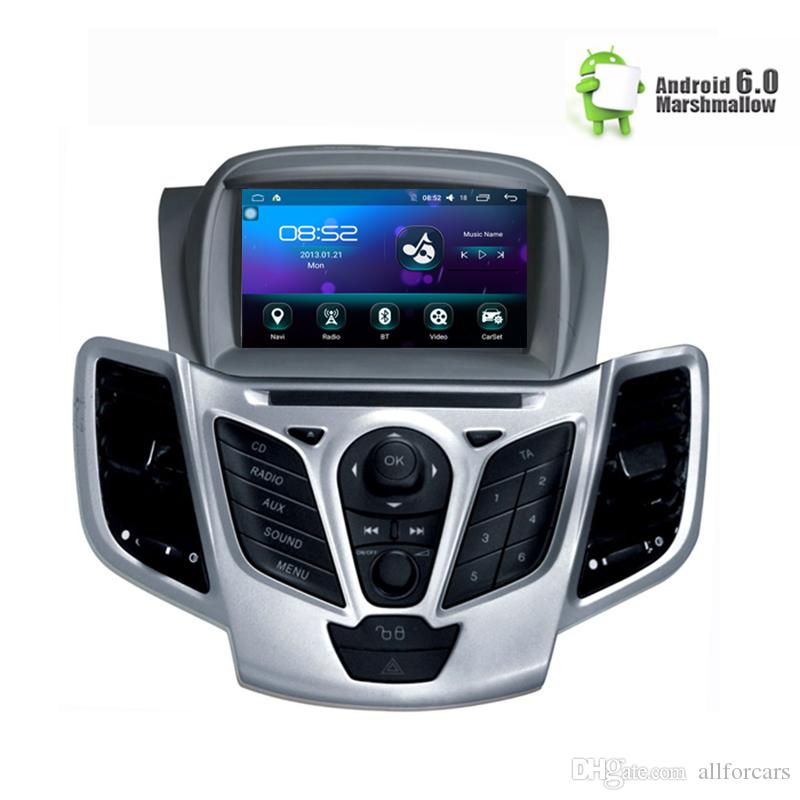 "7"" Android 6.0 Car DVD Stereo For Fiesta 2013 2014 2015 2016 Auto Radio GPS Navigation Audio Video DAB+ WiFi 1GB RAM"