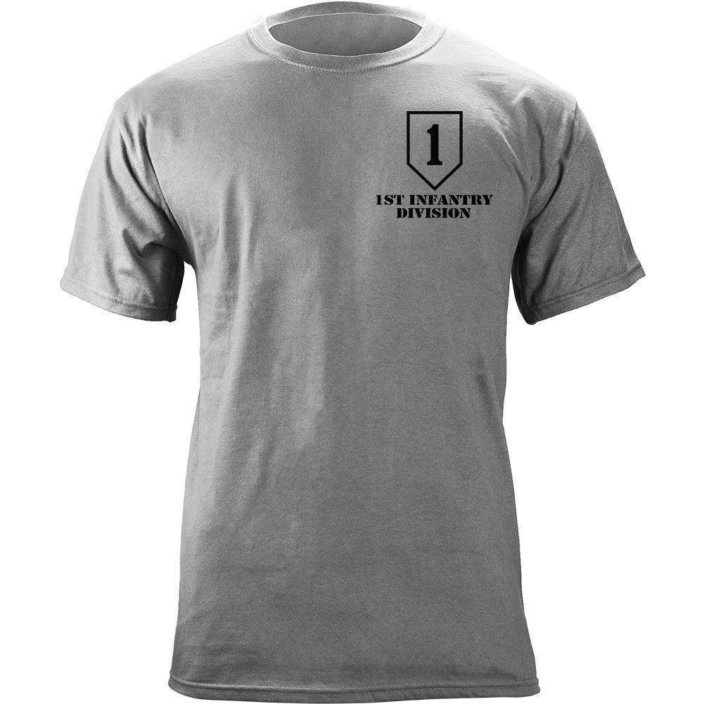 f82659d6 US Army 1st Infantry Division Big Red One Veteran Full Color T Shirt  Awesome T Shirt Design Shirt And Tshirt From Jie74, $14.67  DHgate.Com
