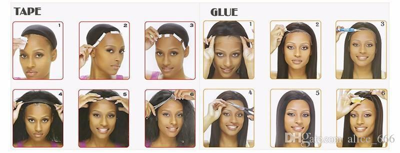 L'alta qualità 100% capelli europei signore di modo capelli vero e proprio best-seller merletto della parte anteriore i capelli lunghi di tessitura a mano parrucca 10-24insh