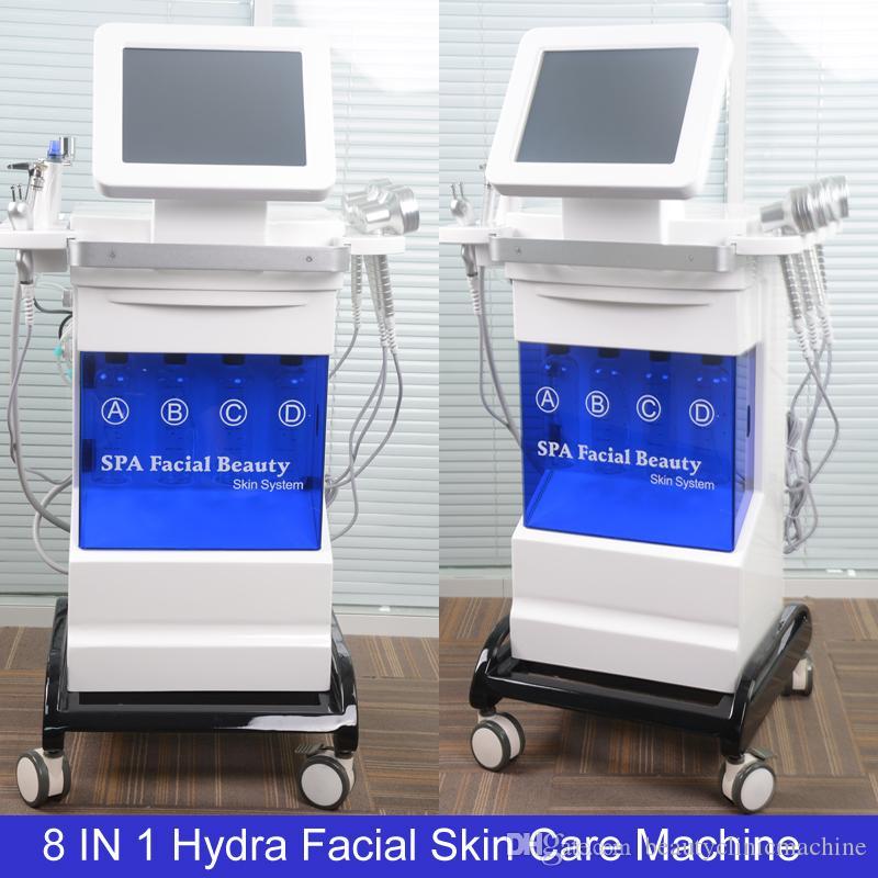 Máquina de dermoabrasão Hydrafacial Esfolia as impurezas Diamond Microdermoabrasão facial BIO Face Lift Ultrasonic Machine Limpeza Profunda