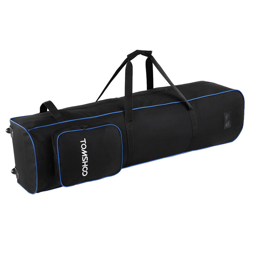 7a4a4763da TOMSHOO Large Capacity Storage Bag Practical Golf Mooth Rolling Golf Travel  Bag Cover With Wheels Travelling Nylon UK 2019 From Cutport