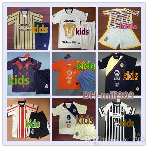 d36e78c99af 2019 LIGA MX Club America Cruz Azul Kids Kits Soccer Jersey 18/19/20 NAUL  Tigrs UNAM Chivas Cougar Monterrey Kids Football Shirt Uniforms Canada 2019  From ...