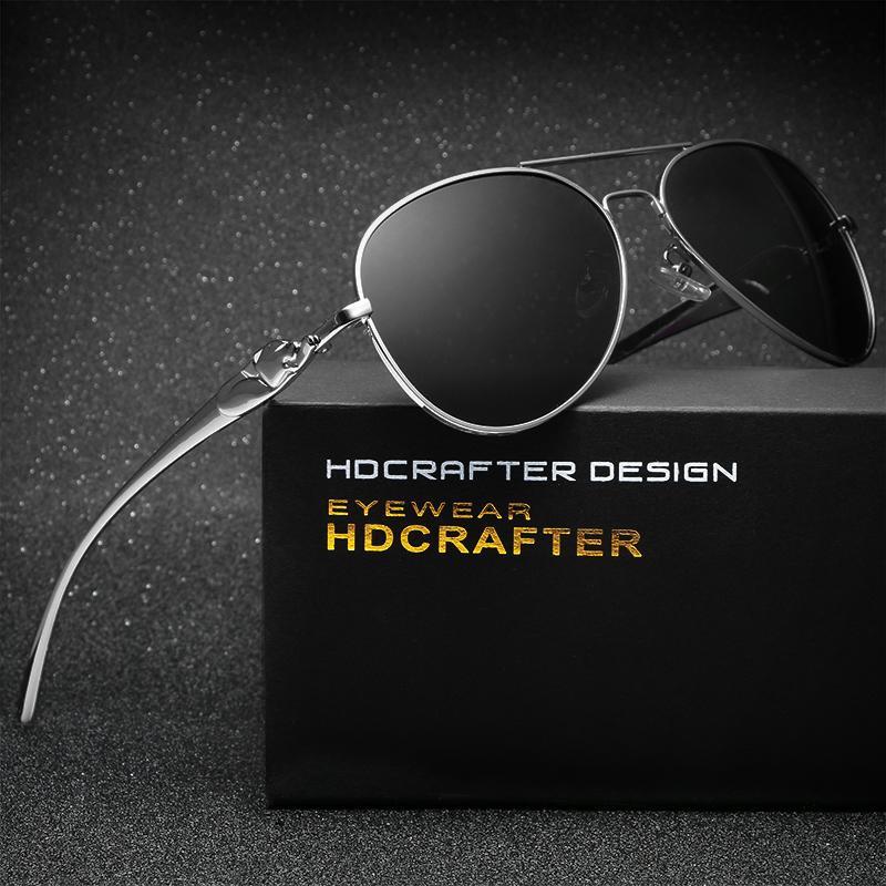 0b475ef0ced45 Compre Hombres Vintage Gafas De Sol Polarizadas Classic Unisex Marca ...