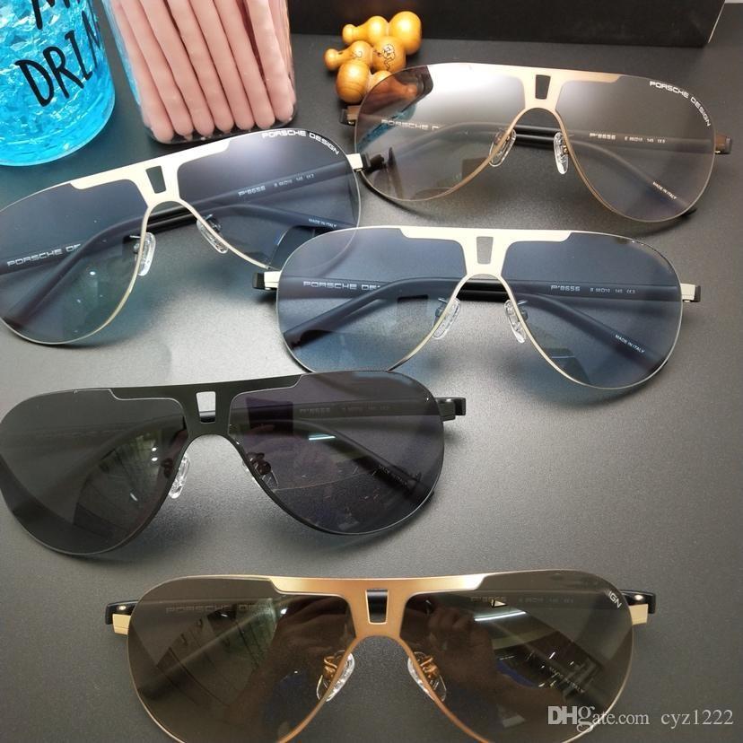 2b83a1587df New Fashion Men s UV400 Sunglasses Square HD Polarized Sun Glasses ...