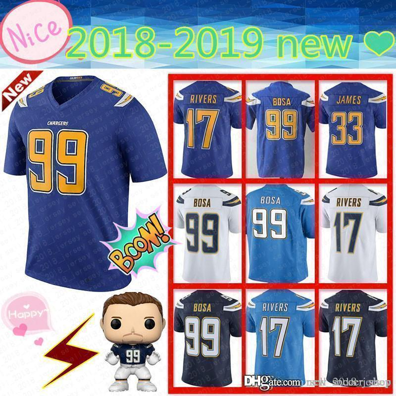 01f6a352 2019 New Los Angeles Charger Men'S Adult 99 Joey Bosa 33 Derwin ...