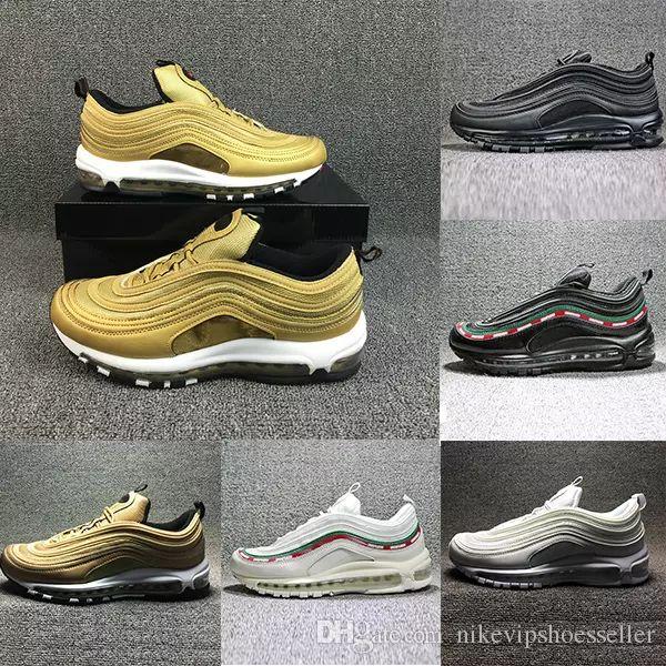 97 OG X Undftd Black Speed Men s Sport Shoes Sneakers Trainers Men ... d24a46ba5111