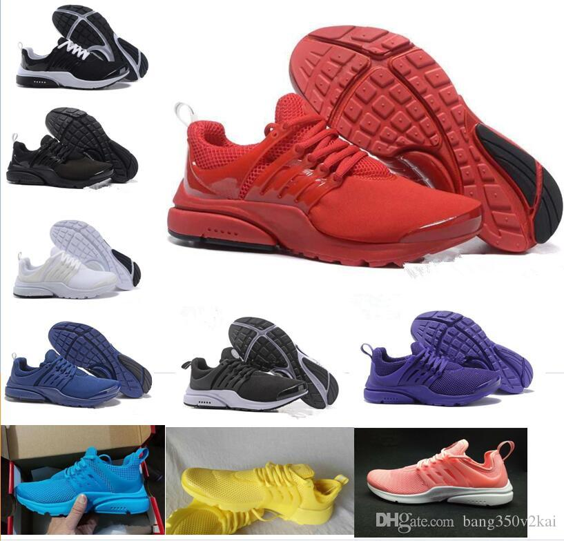 promo code 065b2 77596 2019 Prestos 5 Casual Shoes Men Women Presto Ultra BR QS Yellow Pink Oreo  Outdoor Fashion Jogging Sneakers Size US 5.5 11 Buy Shoes Online Slip On  Shoes ...