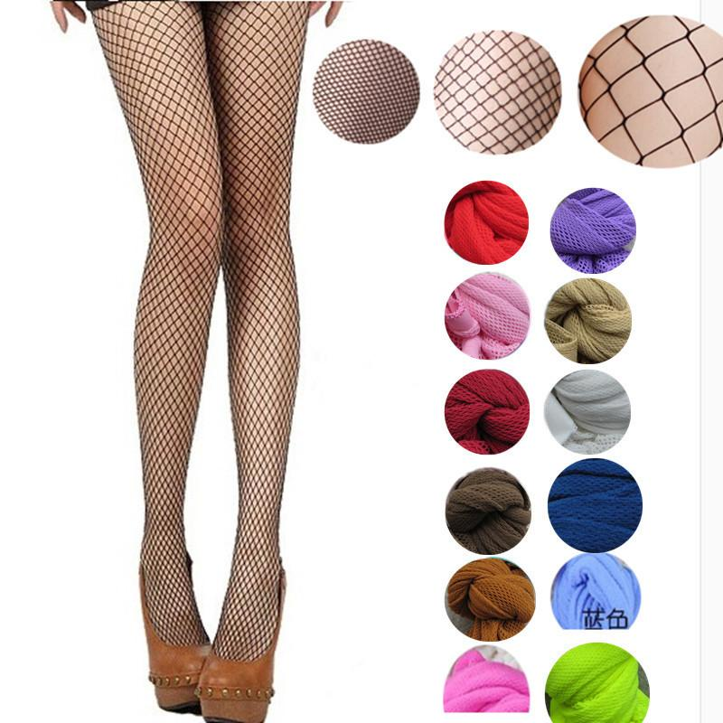 ce1448ba5 2019 Women Pantyhose Multicolor Fishnet Stockings