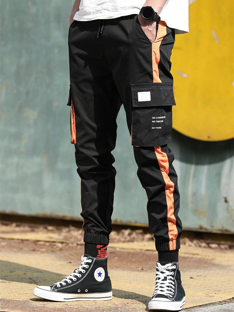 Pants El Barco New Cotton Hip Hop Pencil Pants Men Spring Pockets Army Green Male Cargo Pants Black Grey Streetwear Joggers Trousers Back To Search Resultsmen's Clothing