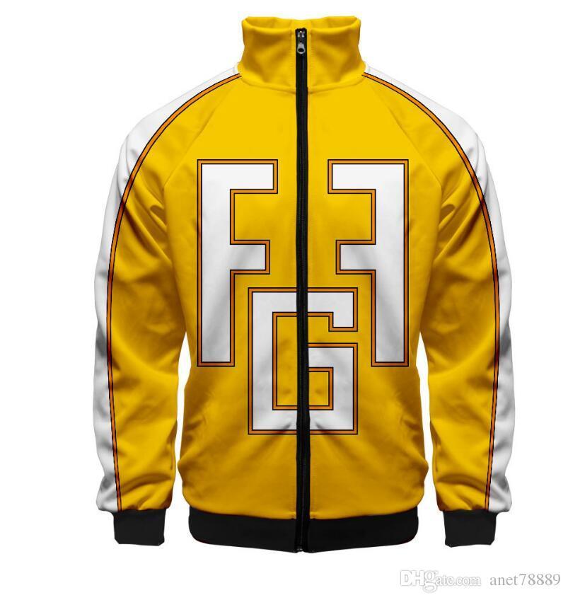 a2e3054604 New Fashion Mens clothing sports jackets My Hero Academy Sweater cosplay 3d  Sweater My Hero Academy Baseball coats Windbreaker