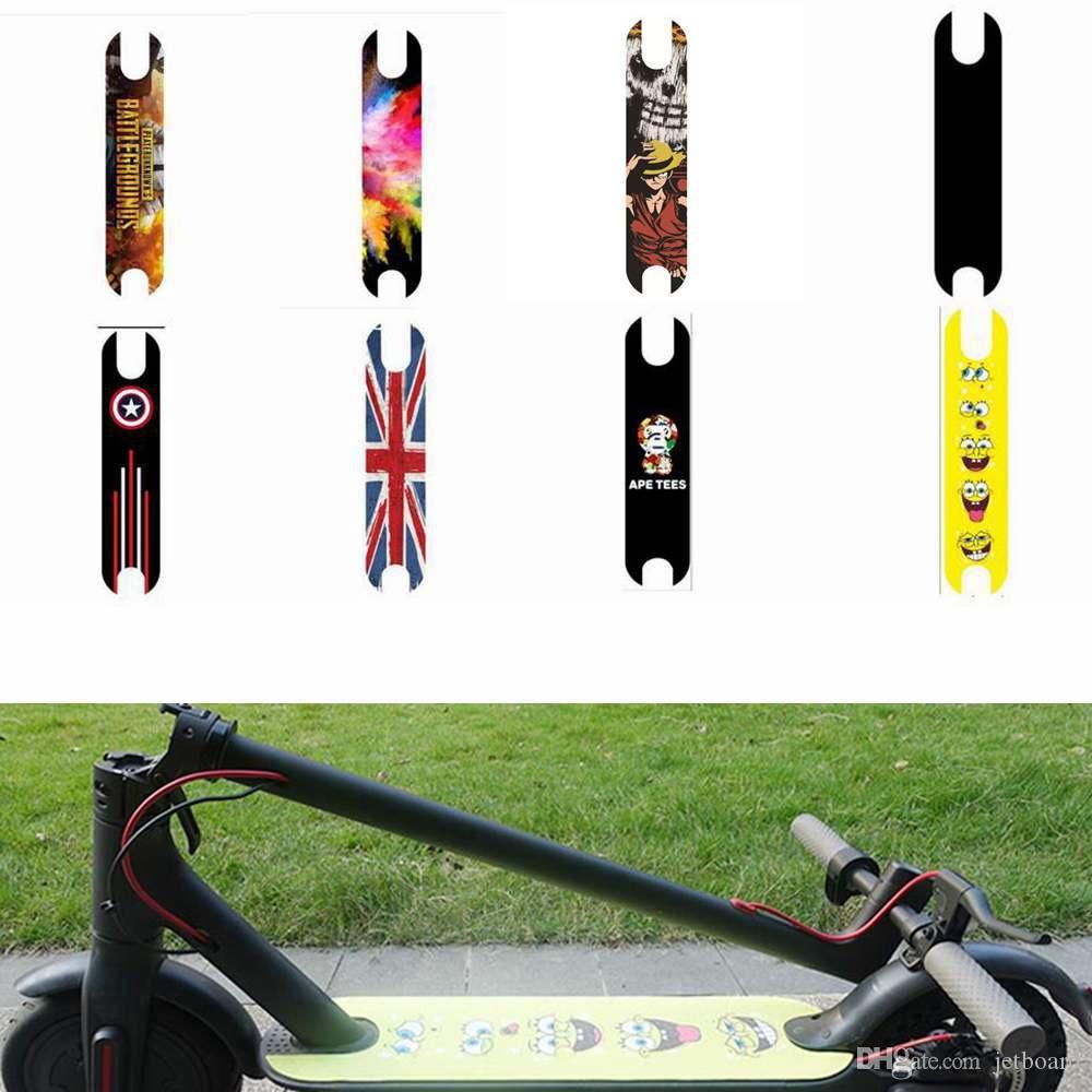 Diy Roller Pedal Aufkleber Für Xiaomi Mijia M365 Elektroroller Teile Zubehör Rutschfeste Cartoon Schleifpapier Für Skateboard 10 Farben