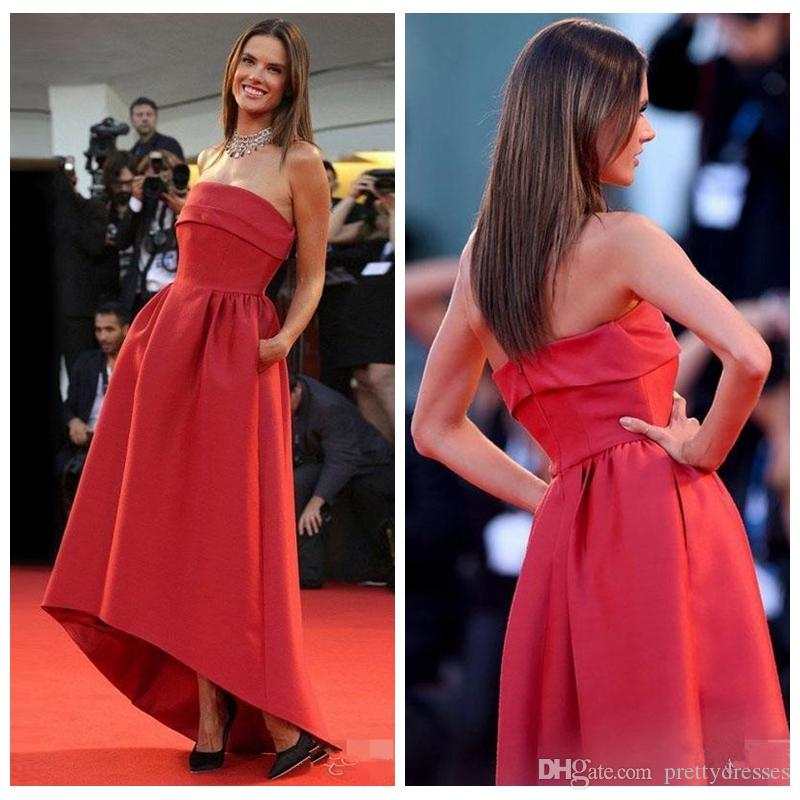 Vestidos de noche alfombra roja 2015