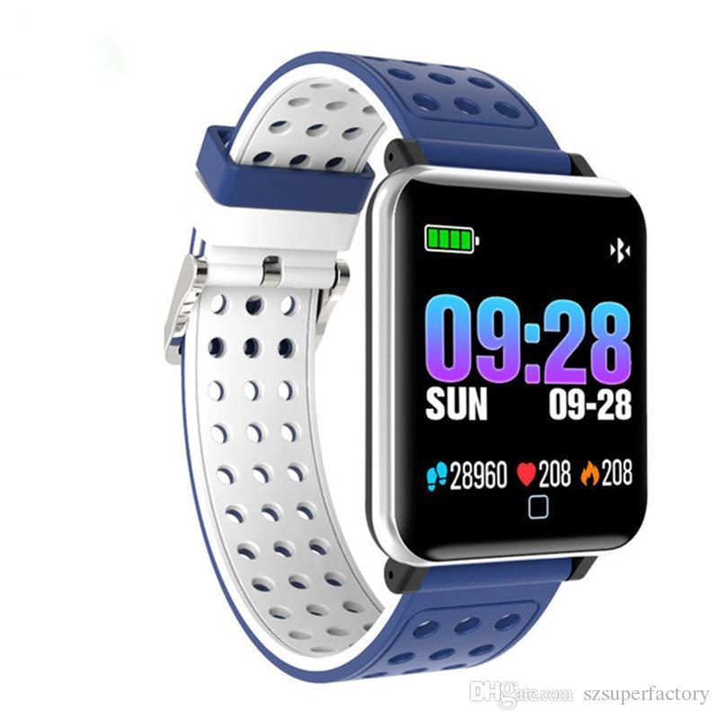 8aded67723a9 Comparativa De Relojes Inteligentes M19 Smart Watch Fitness Tracker Presión Arterial  Bluetooth Reloj Smartwatch Podómetro Monitor De Ritmo Cardíaco Banda ...