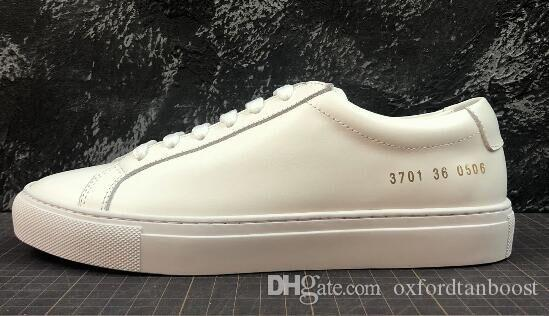 e48c0eadd Mens Designer Luxury Common Projects White Casual Shoes Mens Women ...
