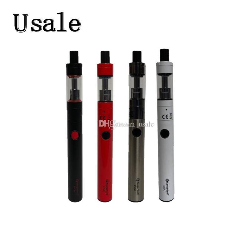 Kangertech TOP EVOD Kit Built-in 650mAh Battery 1.7ml Toptank Kanger TopEvod Kit Vape Pen Simple One Button Design 100% Original