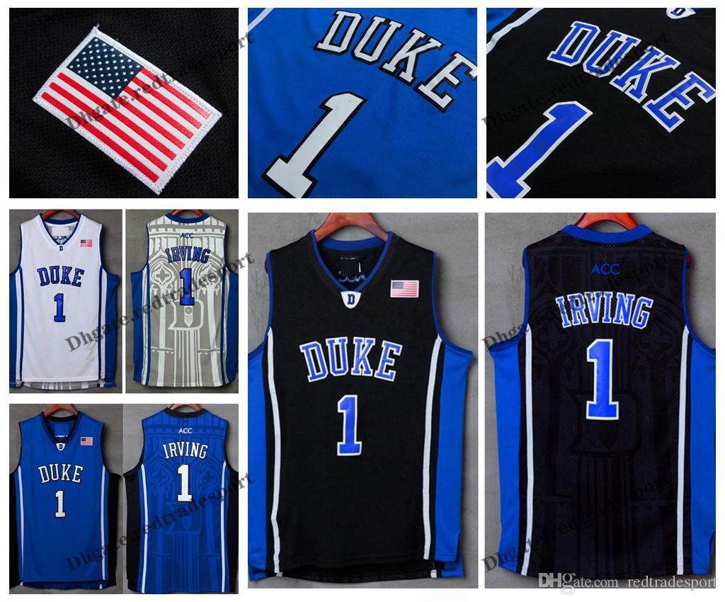 c8383ca9a79 Mens Duke Blue Devils Kyrie Irving College Basketball Jerseys New ...