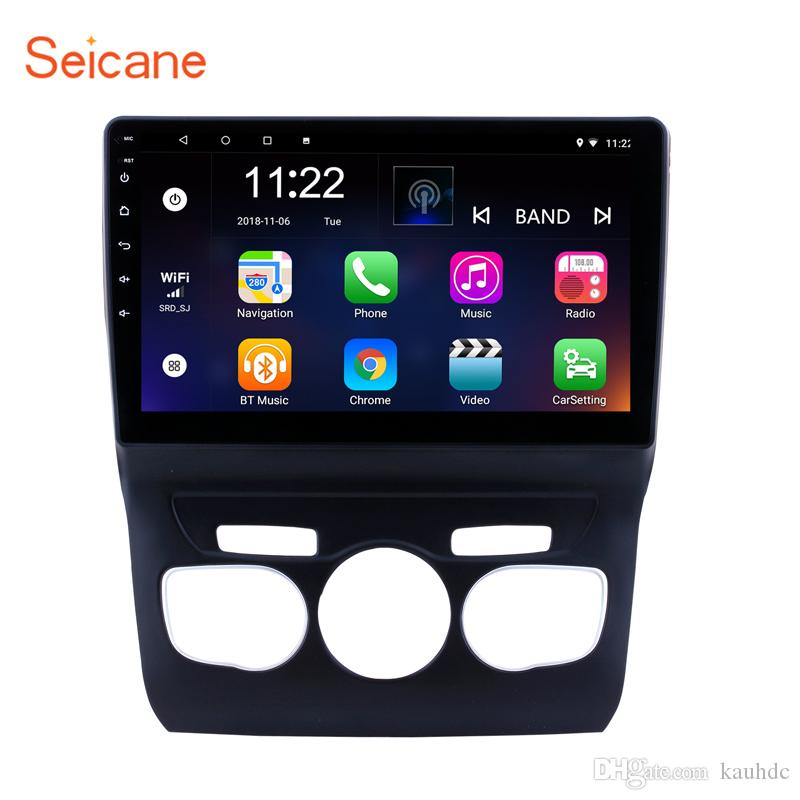 10 1 inch HD touchscreen Android 8 1 Car Stereo GPS Navigation for 2013  2014 2015 2016 Citroen C4 with Bluetooth Support DVR Rearview Camera